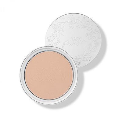 100 Percent Pure- Fond de ten pudra compacta Peach Bisque 04 SPF15