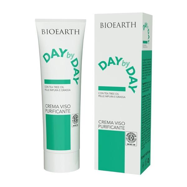 Crema purifianta cu arbore de ceai Day by Day - Bioearth