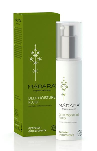 Fluid vegan hidratant intensiv / ten normal sau mixt, 50 ml - Madara