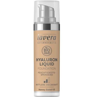 Fond de ten Hyaluron Liquid Honey Sand 03, 30 ml - Lavera