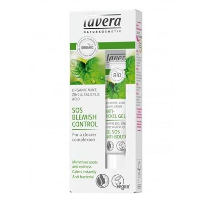Gel SOS anti acnee cu menta, zinc si acid salicilic natural, 15 ml - LAVERA