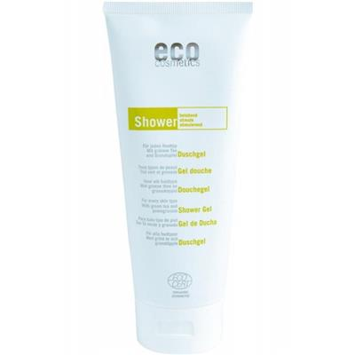 Gel de dus natural cu rodie si ceai verde, 200 ml - Eco Cosmetics