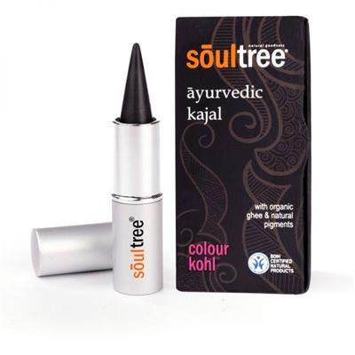 Kajal Ayurvedic Pure Black - Soultree